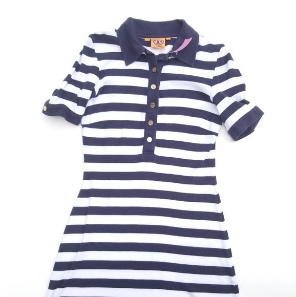 c8c01a3d2443 ... Tory Burch Striped Polo Dress. M 5b22e7b2aaa5b8018dbd289e